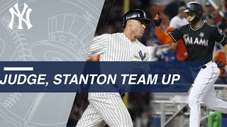 Judge, Stanton to power middle of Yankees order