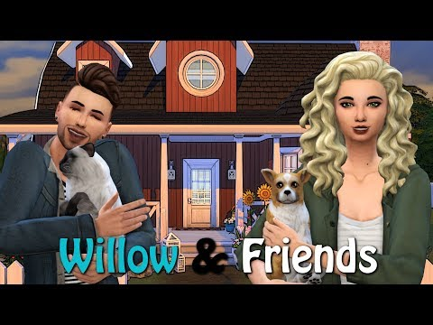 The Sims 4 LETS PLAY // WILLOW AND FRIENDS  NOAH'S MAKEOVER  EP 22