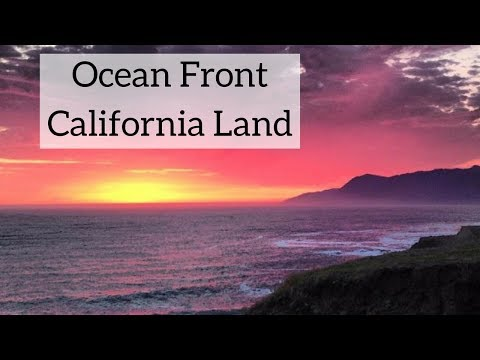 Ocean Front Land For Sale in California