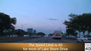 Lake Shore Drive at Dusk: Chicago, IL