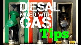 Diesel in to Gas Engine Fix