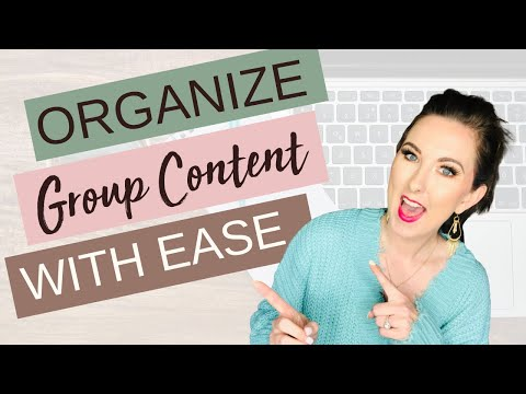 Facebook Group Tutorial: How to ORGANIZE Your Posts/Content thumbnail