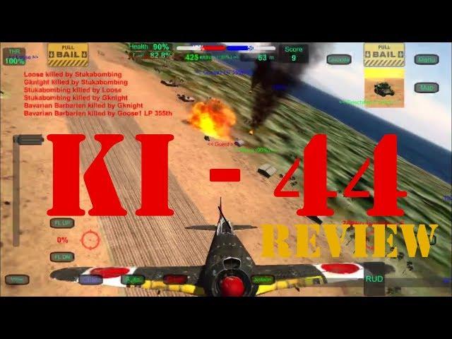 Wings of Duty Ki-44
