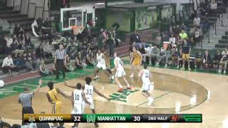 Men's Basketball at Manhattan (Jan. 3, 2019)