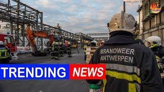 Explosion au port d'Anvers: un mort et quatre blessés