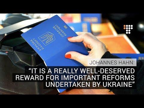 EU Commissioner Visits Eastern Ukraine Frontline