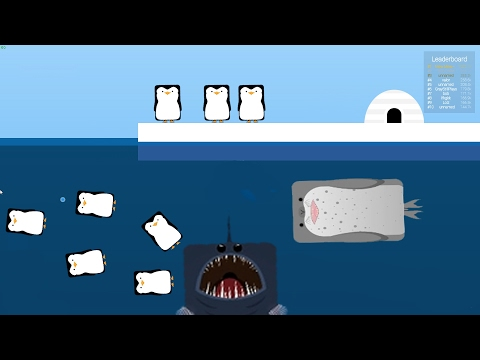 LEOPARD SEAL VS PENGUIN MASSACRE + Deep Sea and Angler fish - Deeeep.io Update Gameplay Highlights