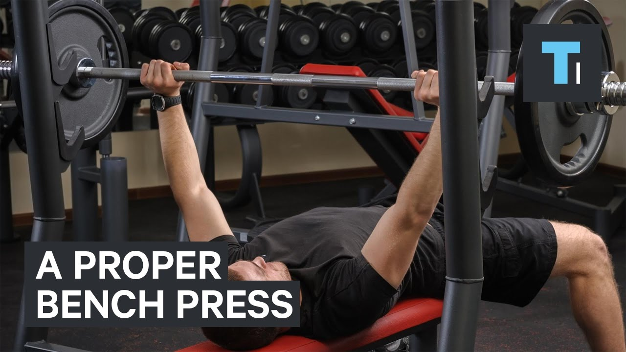 correct way to do bench press