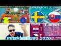 PREDIKSI PERTANDINGAN BELANDA VS AUSTRIA | KROASIA VS REPUBLIK CEKO | SWEDIA VS SLOVAKIA #EURO2020