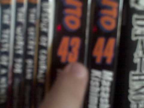 My NARUTO Book Collection - Part 1