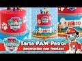 TARTA PATRULLA CANINA / PAW PATROL CAKE   Mesa dulce de Tián