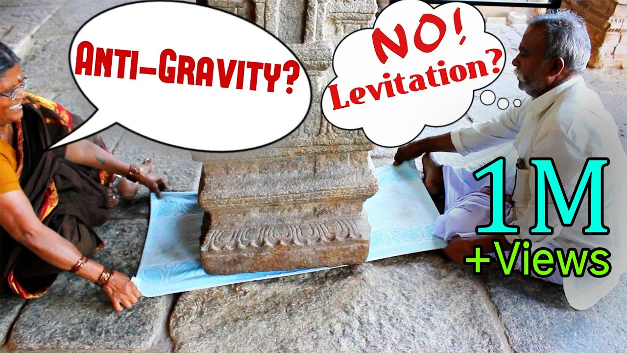 How Does The Hanging Pillar Of India Work Anti Gravity