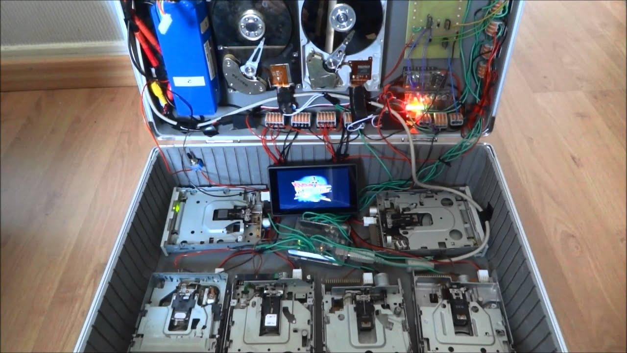 raspberry pi amiga floppy emulator