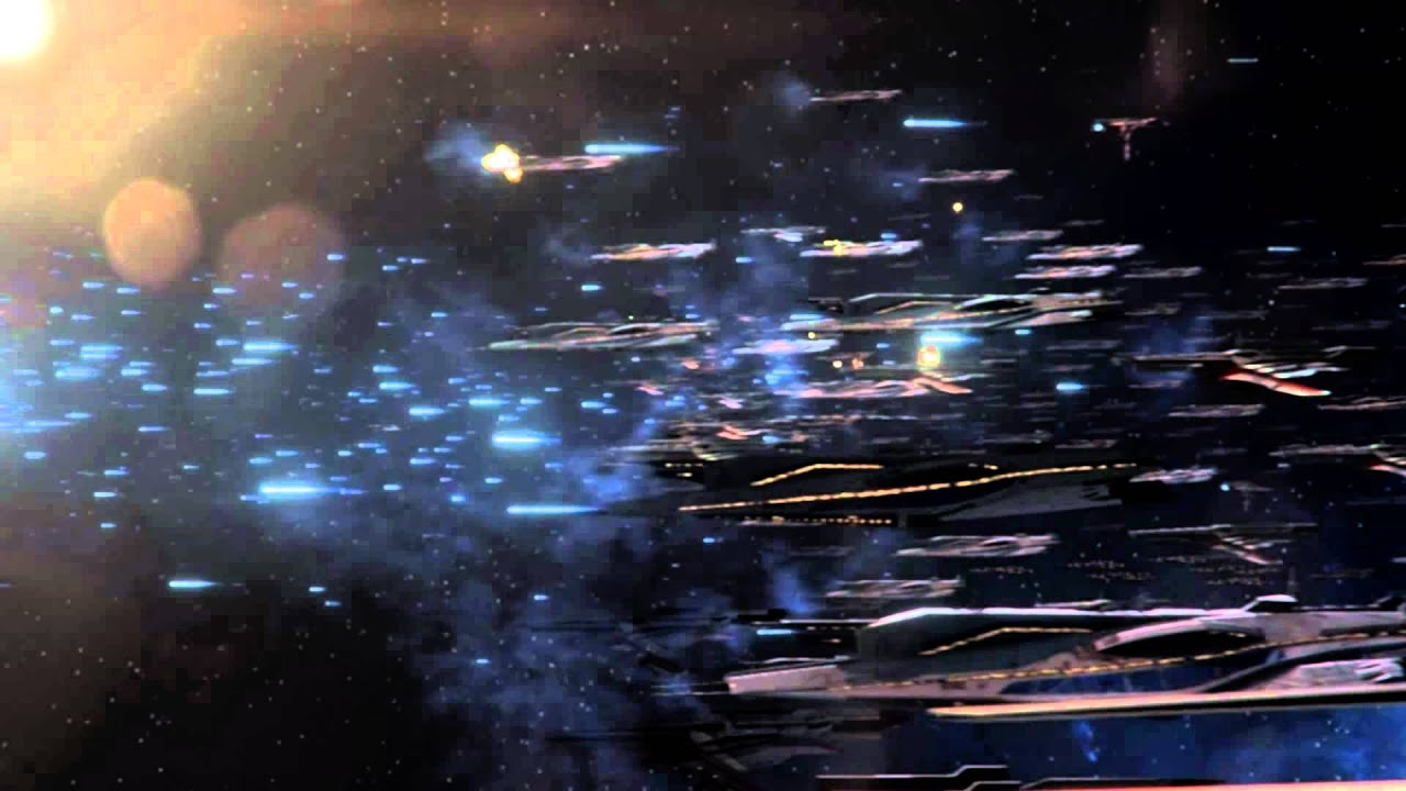Mass Effect 3 - Space Battles [Blow me Away] - YouTube