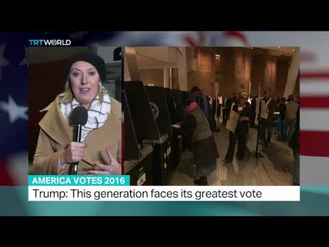 America Votes 2016: Polls open in US presidential election