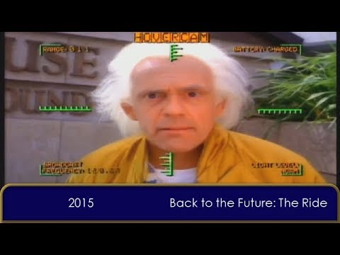 Back to the Future in Chronological Order (August 2017 edition)