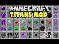 Minecraft TITAN MOD | TURN MINECRAFT MOBS INTO GIANT BOSSES!!