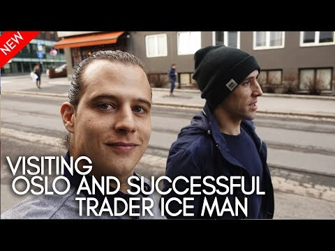 Visiting Oslo and successful trader Ice Man