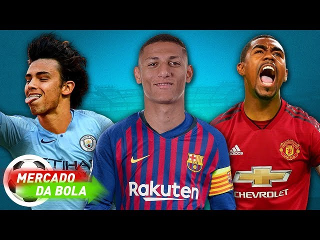GUARDIOLA PEDE JOÃO FÉLIX l MALCOM PODE CHEGAR NO UNITED l RICHARLISON NO BARCELONA