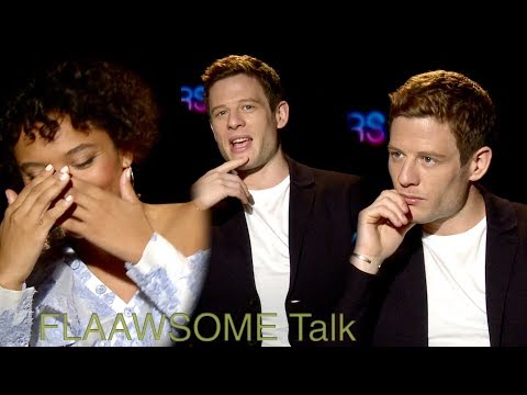 James Norton And Kiersey Clemons Talks Bullying