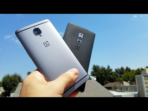 OnePlus 3 vs OnePlus 2: The difference a year makes...