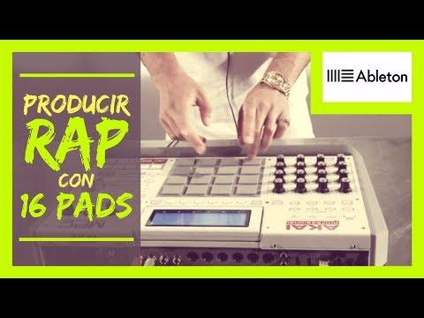 COMO PRODUCIR RAP CON 16 PADS | ABLETON LIVE + AKAI MPD 24 + SAMPLING | SONIDO HIP HOP