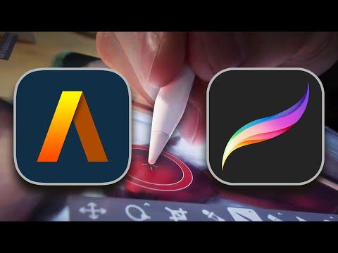 Best on iPad Pro: Artstudio Pro vs Procreate Review