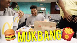 Do we have girlfriends? MCDONALDS MUKBANG‼️🍔🍟🤤