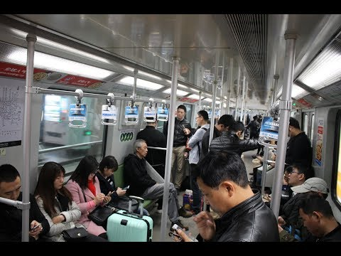Inside the Shanghai Metro / 上海地铁