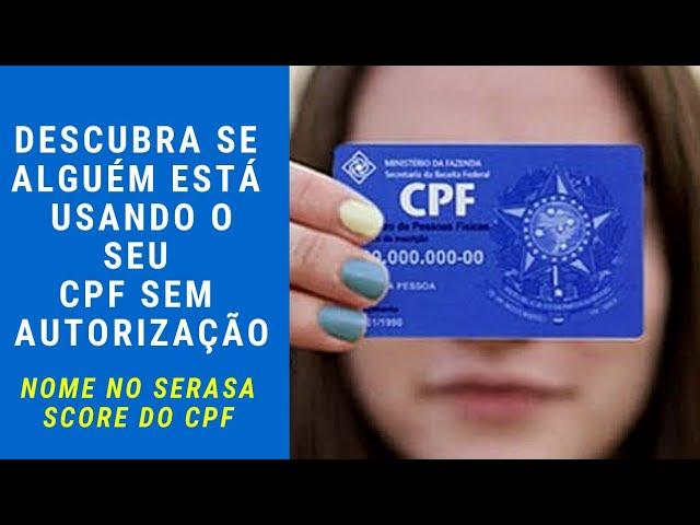 COMO DESCOBRIR SE O SEU NOME ESTÁ NO SERASA E A PONTUAÇÃO DO SCORE DO CPF PELO CELULAR