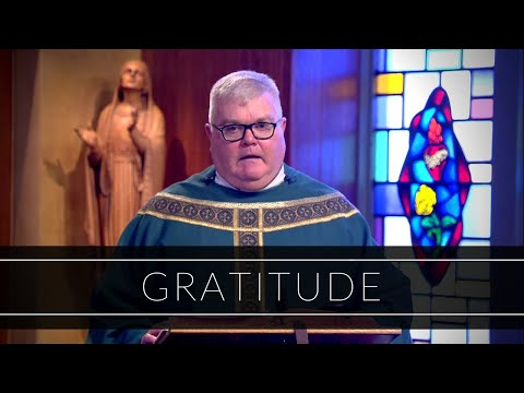 Gratitude | Homily: Father Vincent Daily