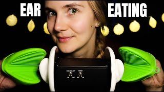 ASMR EAR EATING (+NomNoms, Cupping)