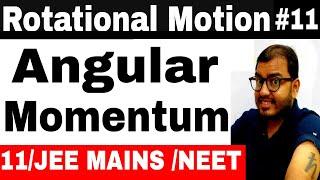Rotational Motion 11 || Angular Momentum IIT JEE  MAINS / NEET || Angular Momentum of Rotating Body