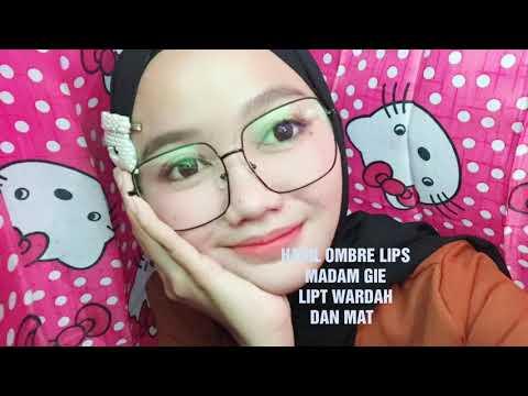 🔥ombre-lips-ala-korea|-madame-gie-lipt-wardah-and-matte-🔥