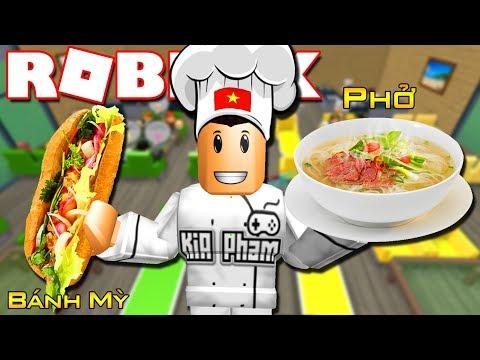 Roblox | MÓN ĂN ĐẶC SẢN CỦA VIỆT NAM - Restaurant Tycoon | KiA Phạm