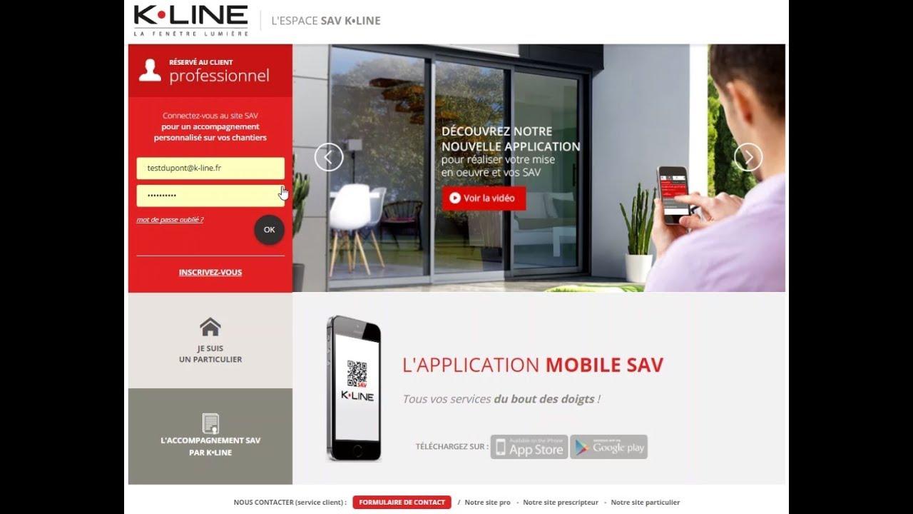 Tutoriel Site Sav K Line