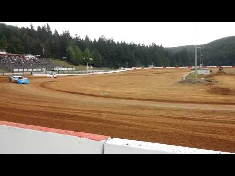 5-17-14 late model heat coos bay speedway