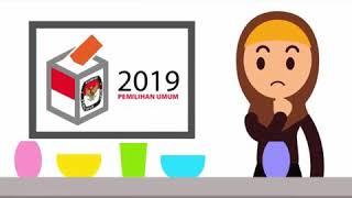 Download Video Cara mencoblos DPR RI 2019  yang Benar MP3 3GP MP4