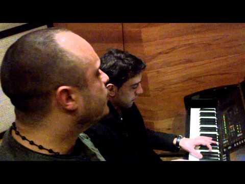 Miri Yusif & Emin Kerimi in the studio (Live Performance)
