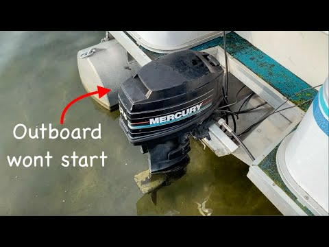 How to replace Starter Mercury outboard