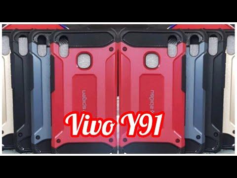 Phone Case Vivo Y91 ~ Spigen Iron