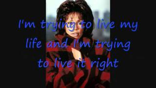 Whitney Houston ~ My Heart Is Calling ~ Lyrics On Screen
