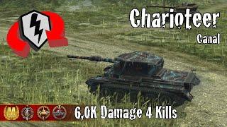 Charioteer     6,0K Damage 4 Kills     WoT Blitz Replays