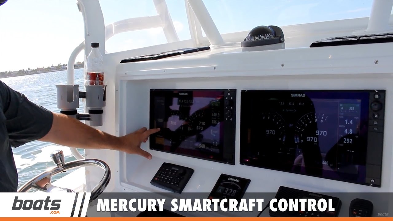 Mercury SmartCraft Control via MFD