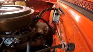 Делаем тросик газа на москвич (ДААЗ 2140)