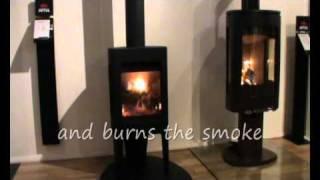 Jotul F 163 Woodburning Stove Burning