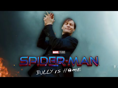 Tobey in the No Way Home Trailer