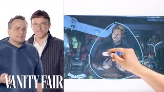 Infinity War's Directors Break Down the Thor and Guardians of the Galaxy Scene | Vanity Fair