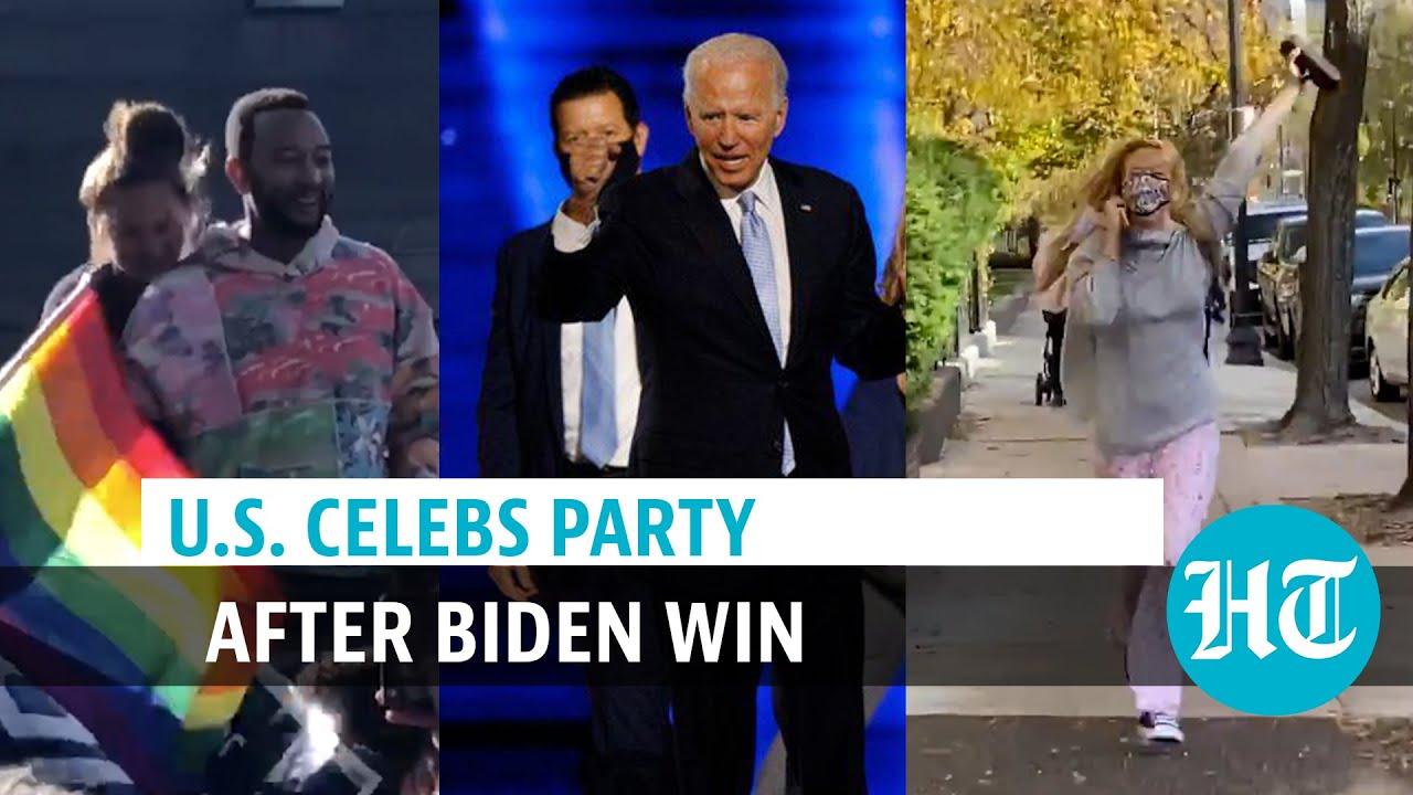 Biden win: Celebs Jennifer Lawrence, Ariana Grande, others celebrate Trump loss