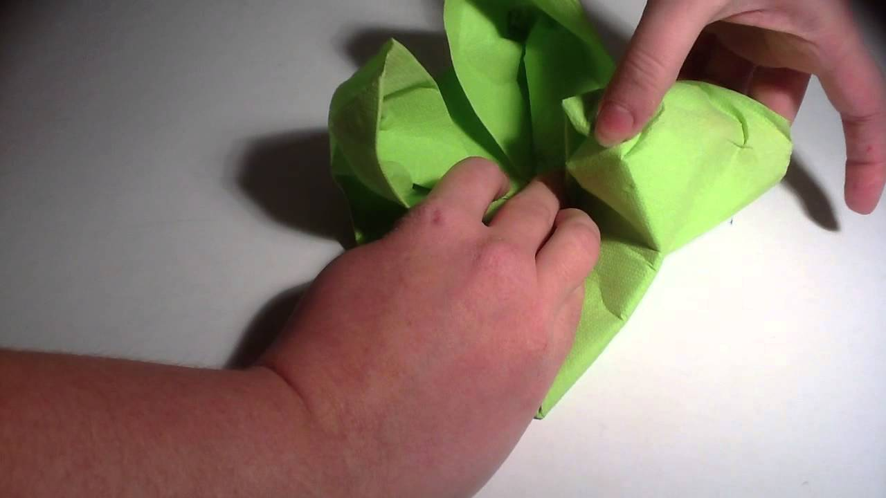 faire un n 233 nuphar avec une serviette pliage serviette n 233 nuphar origami